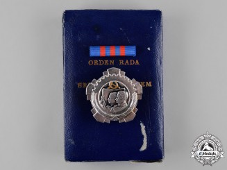 Yugoslavia, Socialist Federal Republic. An Order of Labour with Silver Wreath, III Class