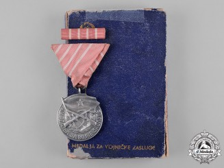 Yugoslavia, Socialist Federal Republic. A Medal for Military Merit