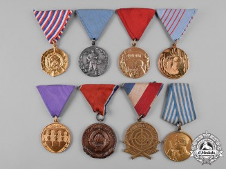 Yugoslavia, Socialist Federal Republic. A Lot of Twelve Medals