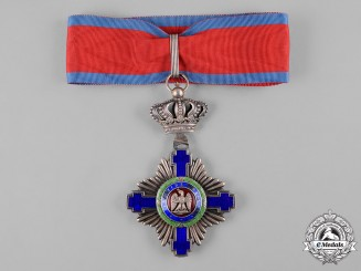 Romania, Kingdom. An Order of the Star, III Class Commander, Civil Division, c. 1940