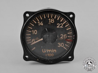 Germany, Luftwaffe. A Tachometer by Deuta-Morell, c.1937