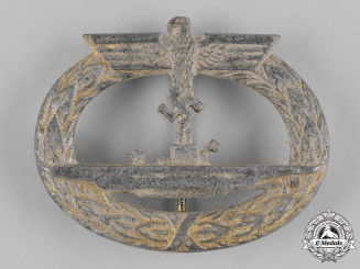 Germany, Kriegsmarine. A U-Boat War Badge, by Gebrüder Wegerhoff