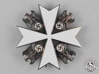 Germany, Third Reich. An Order of the German Eagle, II Class, by Gebrüder Godet
