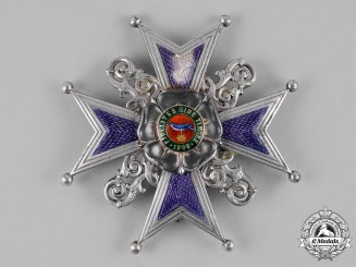 Lippe, Principality. An Order of Leopold, Grand Cross Honour Cross (Collectors Copy)