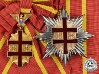 Slovakia, Republic. An Order of Military Victory Cross, Grand Cross (Collectors Copy)