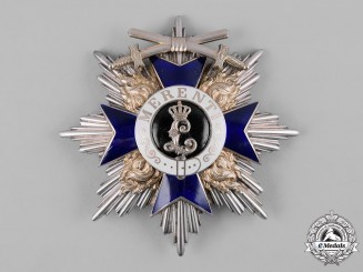 Bavaria, Kingdom. An Order of Military Merit, Grand Cross Star with Swords (Collectors Copy)
