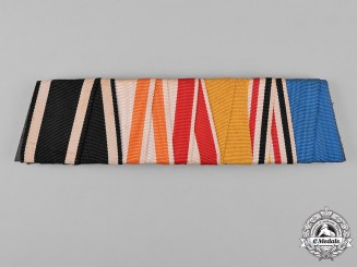 Prussia, Kingdom. A Prussian Ribbon Bar