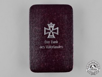 Germany, Imperial. A 1914 Iron Cross Case, by Hinrich Petersen