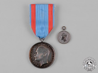 Hesse-Darmstadt, Grand Duchy. A General Honour Decoration, Silver Medal for War Merit, c.1917