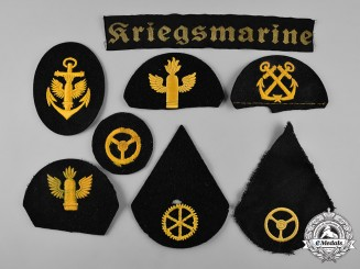 Germany, Kriegsmarine. A Lot of Kriegsmarine Uniform Insignia