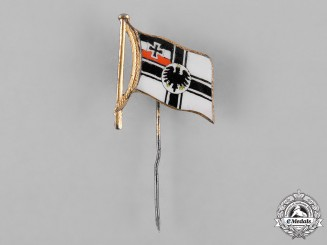 Germany, Imperial. An Imperial Ensign Stick Pin