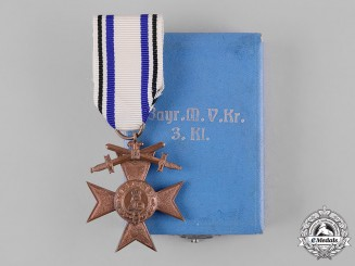 Bavaria, Kingdom. A Military Merit Cross, III Class with Swords, by Jacob Leser, c.1914