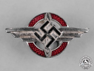 Germany, DLV. An Air Sports Association Buttonhole by Wilhelm Deumer