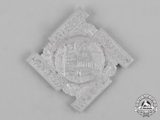 Germany, Third Reich. A 1939 Grand Opening of the District Town Hall Badge by Ulbricht of Vienna