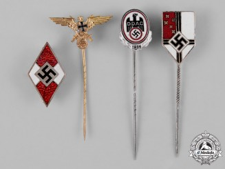 Germany, Third Reich. A Mixed Group of Pins