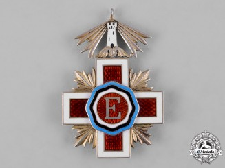 Estonia, Republic. An Order of the Red Cross, V Class Knight, c.1940