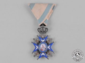 Serbia, Kingdom. An Order of St. Sava, V Class Knight, c.1918