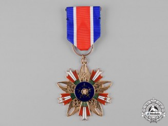 Taiwan, China Republic. An Air Force Order Of Renaissance And Honour