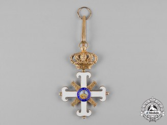 San Marino, Republic. An Order of San Marino, I Class Grand Cross, c.1935