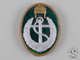 Hungary, Kingdom. A Boat Leader's Badge c.1922