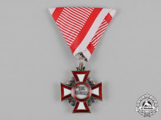 Austria, Imperial. A Military Merit Cross, III Class with War Decoration, by V. Mayer's Söhne