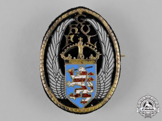 Hesse, Grand Duchy. A Hesse Patriotic Badge by W. Sauerwein