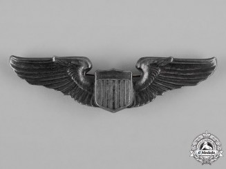 United States. An Army Air Force Pilot Badge, c.1944