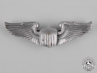 United States. An Army Air Force Pilot Badge, by Amcraft Attleboro