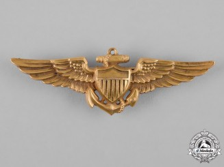 United States. A Naval Aviator Badge, by N.S.Meyer