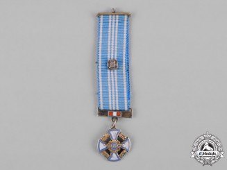 Peru, Republic. An Order of Aeronautical Merit, Miniature, by Zuldet