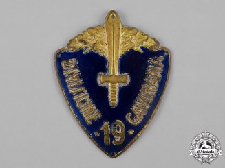 "Italy, Kingdom. A 19th Infantry Division ""Gavinana""  Italo-Ethiopian War Sleeve Badge"