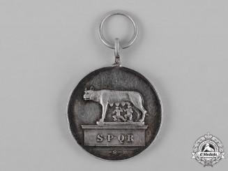 Italy, Kingdom. A City of Rome Silver Grade Merit Medal
