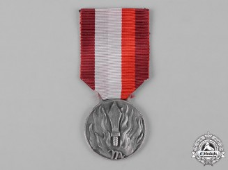 Italy, Kingdom. A Medal for Service Merit in the National Fire Brigade