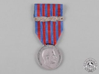 Italy, Kingdom. A Medal for the Libyan Campaign with 1926 Clasp