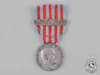 Italy, Kingdom. A Medal for the Libyan Campaigns with 1913-14 Clasp