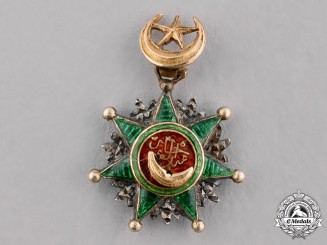 Ottoman Empire. An Order of Osmania, Miniature, c.1900