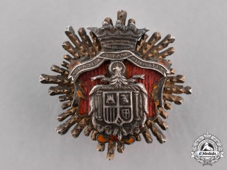 Spain, Franco Period. An Order of Justice, Miniature Star