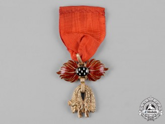 Austria, Imperial. An Order of the Golden Fleece in Gold, Uniform Badge, by Rothe, c.1900