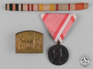 Austria, Imperial. A Lot of First War Period Austro-Hungarian Insignia