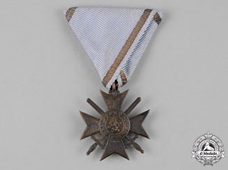 Bulgaria, Kingdom. A Military Order of Bravery, IV Class , c.1915