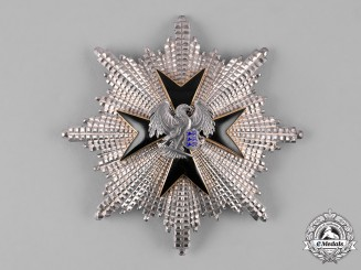 Estonia, Republic. An Order of the Eagle Cross, I Class Grand Cross Star, c.1940