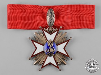 Poland, Republic. A Zamosc Cathedral Chapter Cross, c.1925