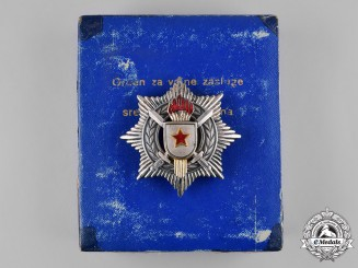 Yugoslavia, Socialist Federal Republic. Order of Military Merit with Silver Swords, III Class