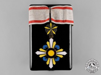 China, Occupied Manchukuo. An Order of the Auspicious Clouds, III Class, c.1935