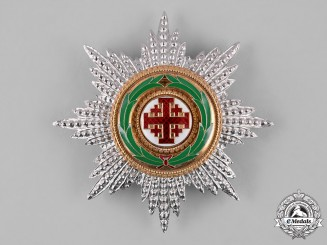 Vatican. An Order of the Holy Sepulchre of Jerusalem, Grand Cross Star, c.1990
