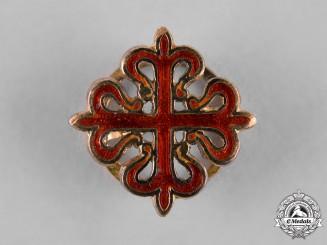 Spain, Kingdom. An Order of Calatrava, Miniature Boutonniere