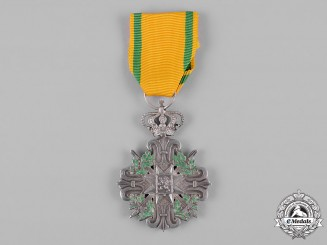 Luxembourg, Grand Duchy. A Long Service Cross, II Class for Officers, Fifteen Years' Service, c.1900