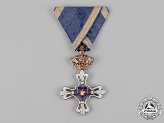 Italy, Parma. A Civil Merit Order of St. Louis, Knight III Class, c.1900