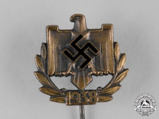 Germany, NSRL. A 1942 National Socialist League of the Reich for Physical Exercise (NSRL) Membership Stick Pin