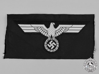 Germany, Heer. A Heer Panzer EM/NCO's Tunic Breast Eagle